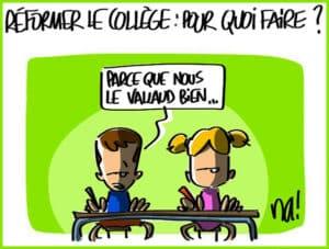 réforme collège