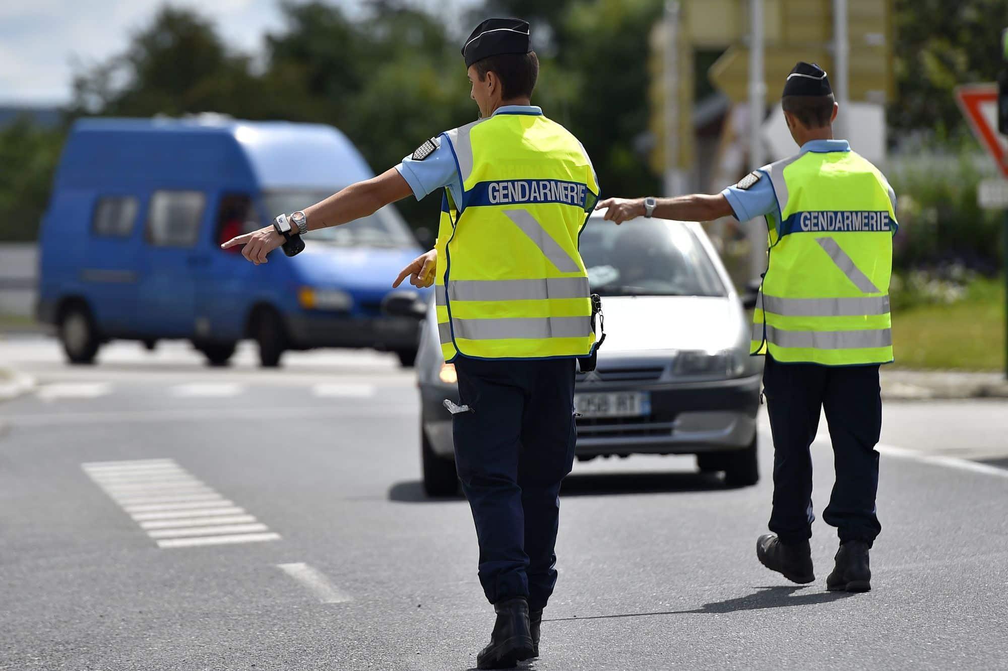 Documents d'un contrôle routier