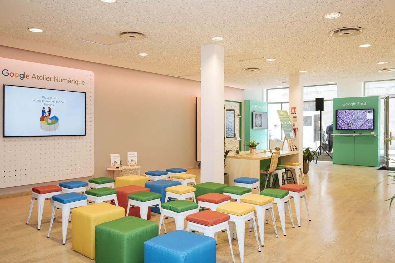 Google France ouvre le premier Atelier numérique à Rennes
