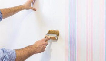 Papier peint ou peinture