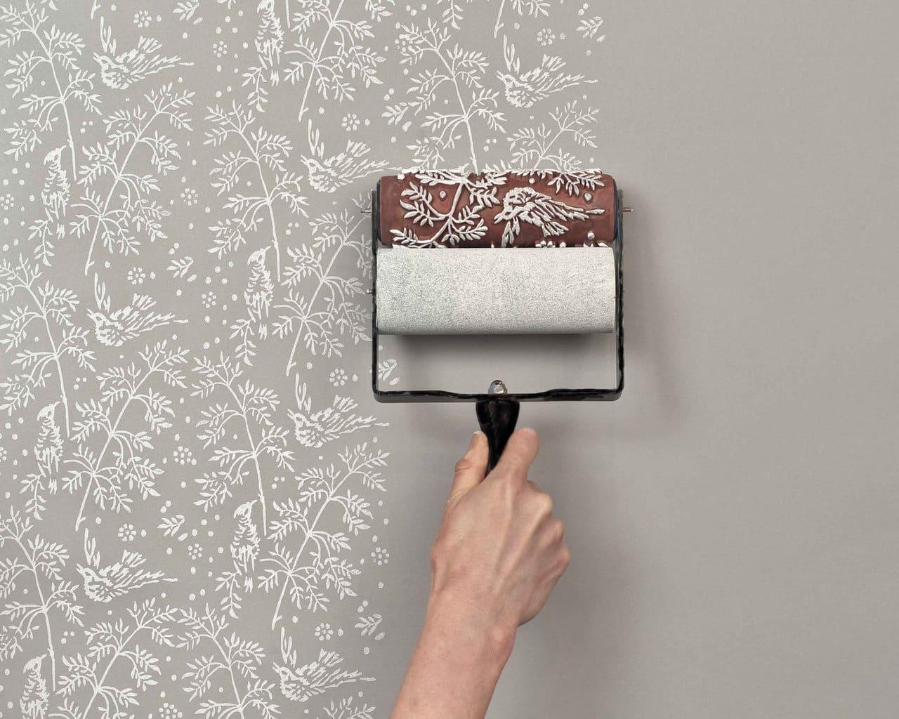 peinture papier peint